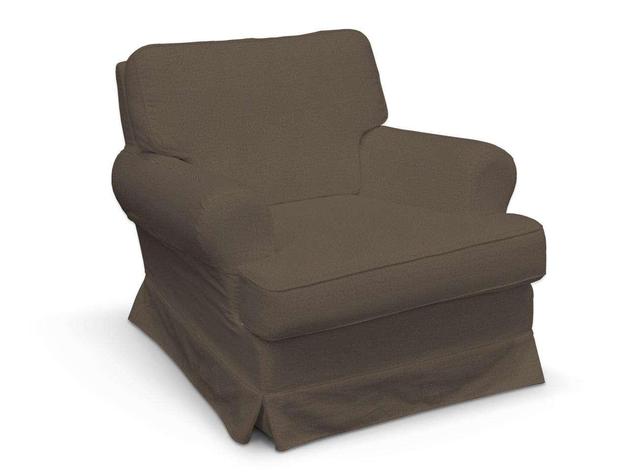 Pokrowiec na fotel Barkaby w kolekcji Etna, tkanina: 705-08