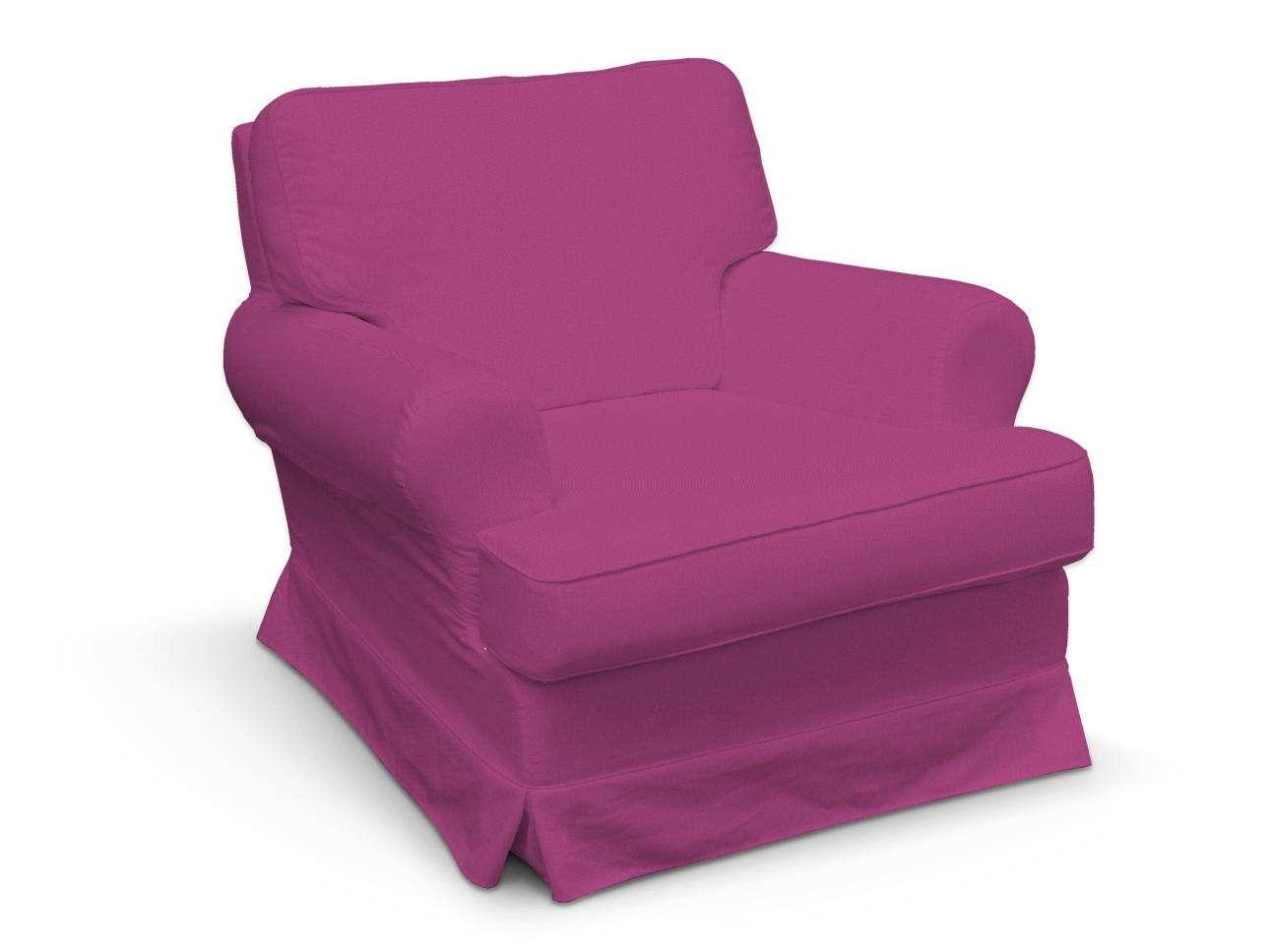Pokrowiec na fotel Barkaby w kolekcji Etna, tkanina: 705-23