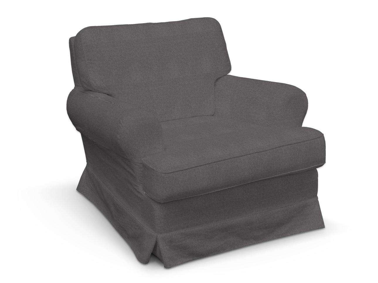 Pokrowiec na fotel Barkaby w kolekcji Etna, tkanina: 705-35