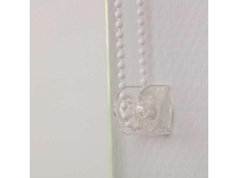 Roleta zwijana w kolekcji Rolety zwijane transparentne, tkanina: 4999