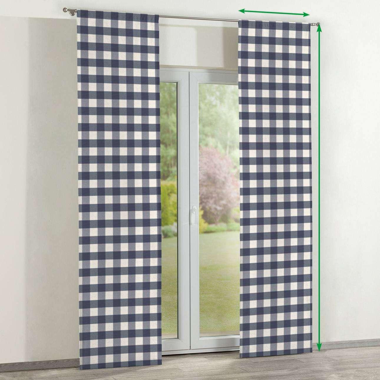 Zasłony panelowe 2 szt. w kolekcji Quadro, tkanina: 136-03