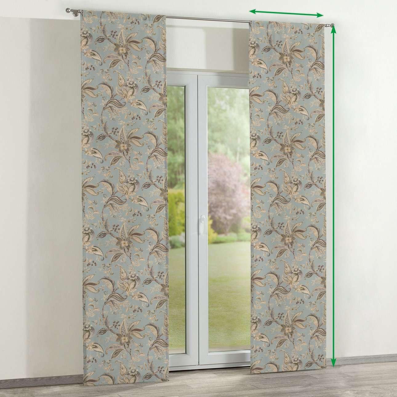 Panelgardiner 2 stk. fra kolleksjonen Gardenia, Stoffets bredde: 142-18