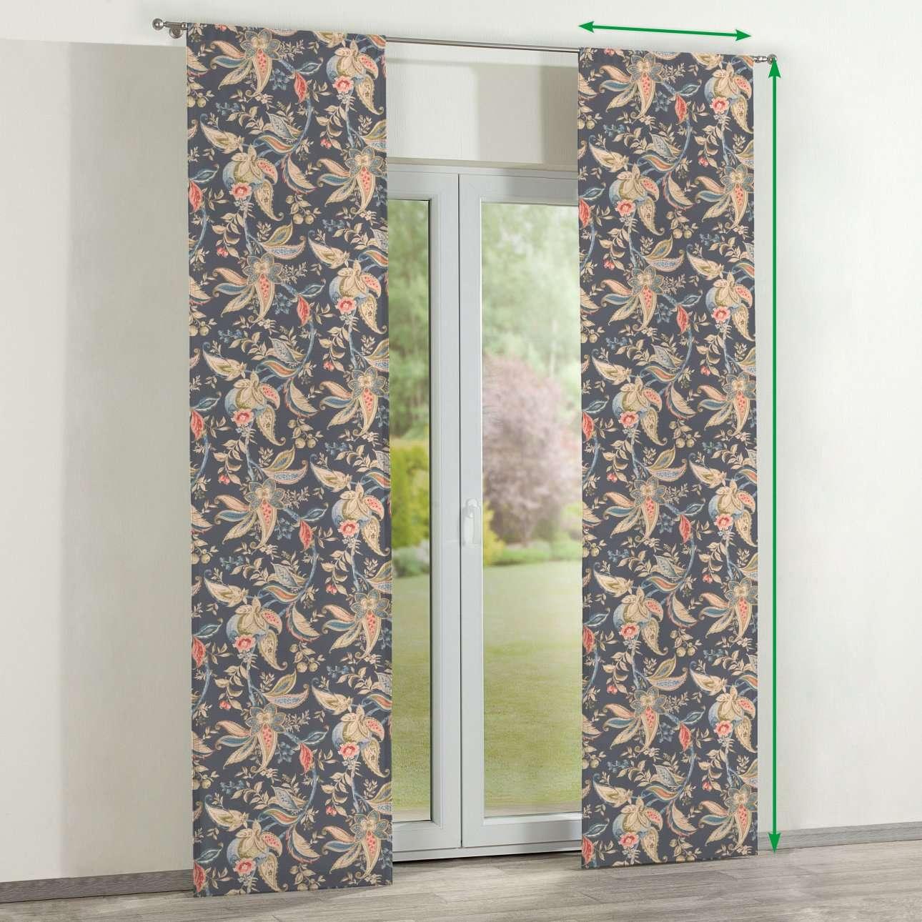 Panelgardiner 2 stk. fra kolleksjonen Gardenia, Stoffets bredde: 142-19