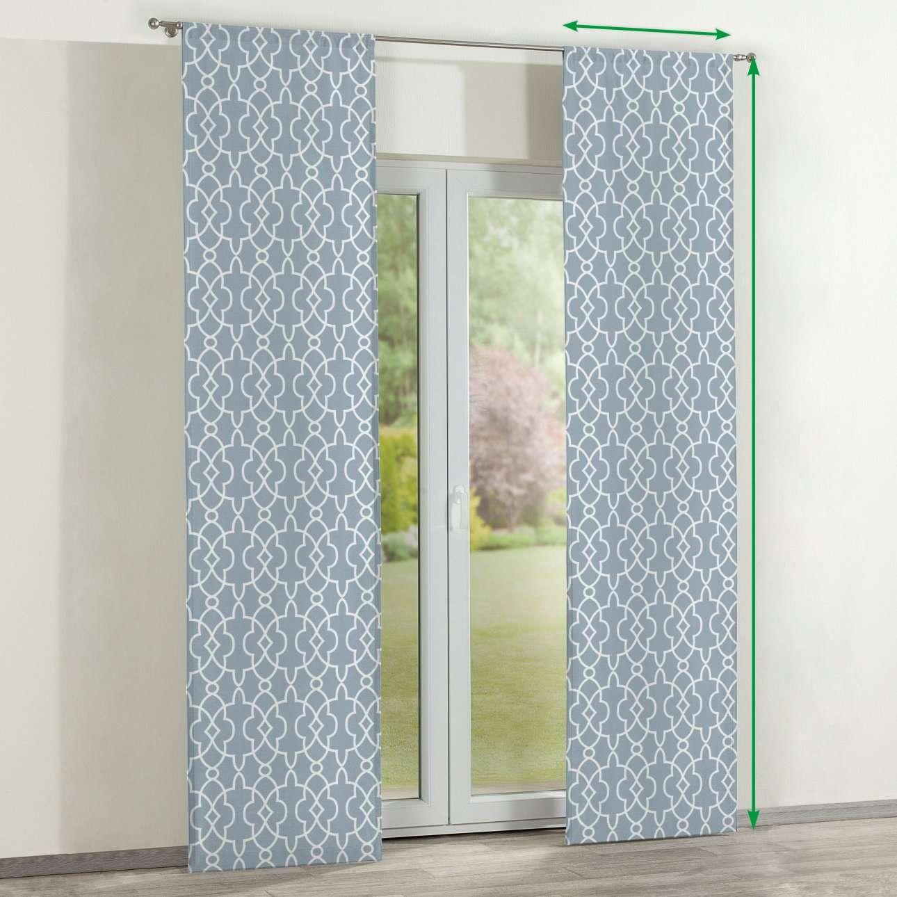 Zasłony panelowe 2 szt. w kolekcji Gardenia, tkanina: 142-22
