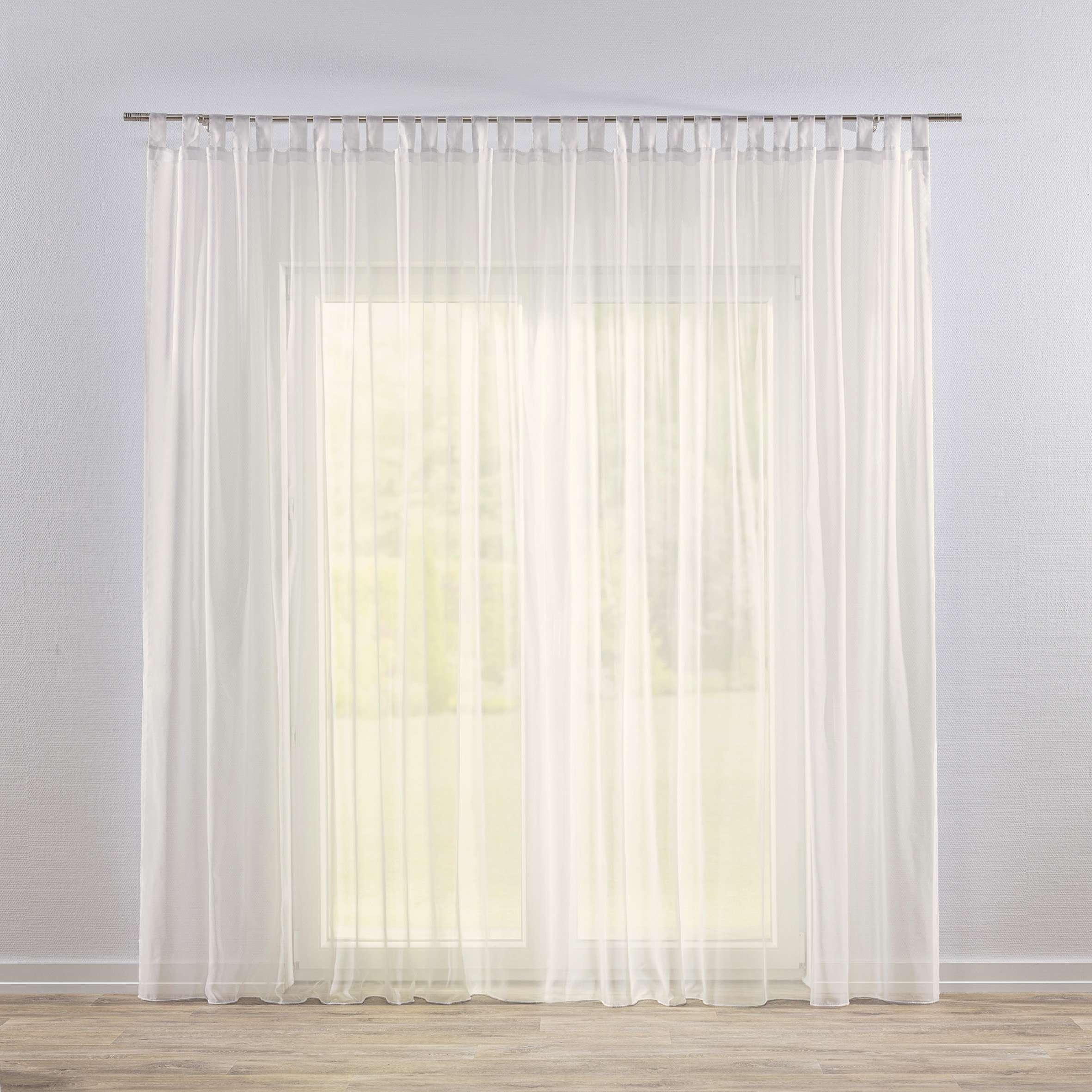 Záclona z voálu na pútkach V kolekcii Voálové záclony, tkanina: 901-01