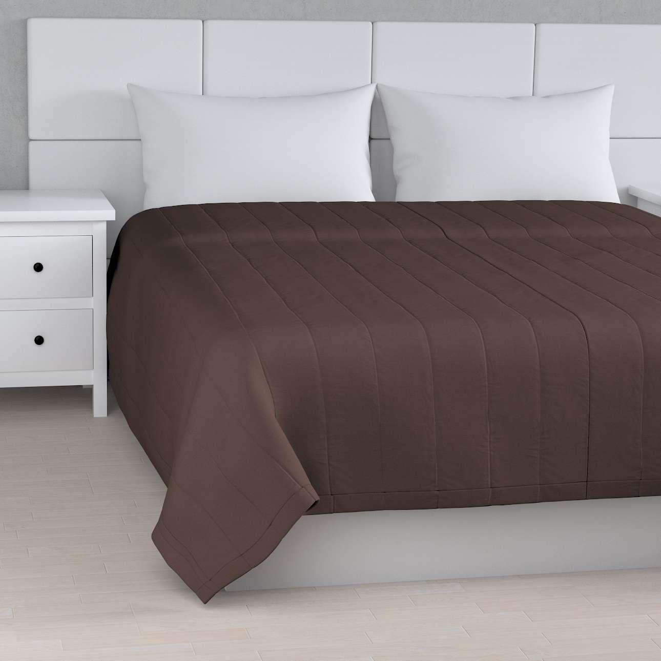 Sengeteppe quiltet<br/>10cm striper fra kolleksjonen Cotton Panama, Stoffets bredde: 702-03