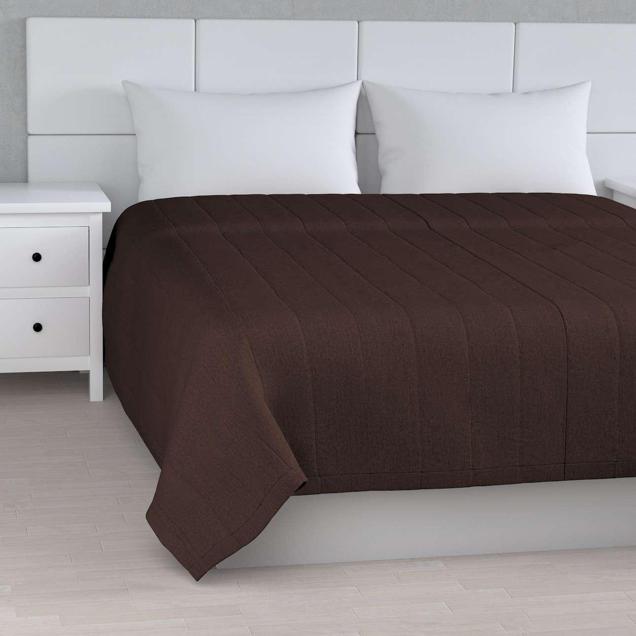Tagesdecke mit Streifen-Steppung von der Kollektion Chenille , Stoff: 702-18