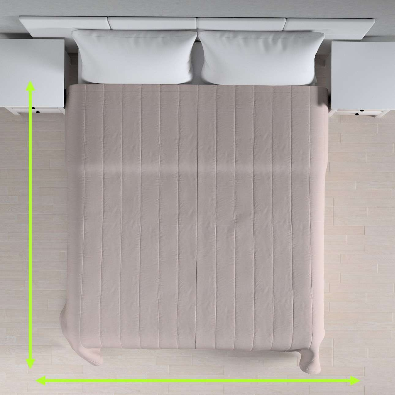 Prehoz na posteľ jednoduchý V kolekcii Loneta, tkanina: 133-24