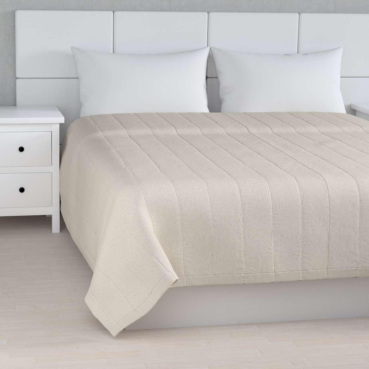 Päiväpeitto tikattu raidat mallistosta Loneta, Kangas: 133-65