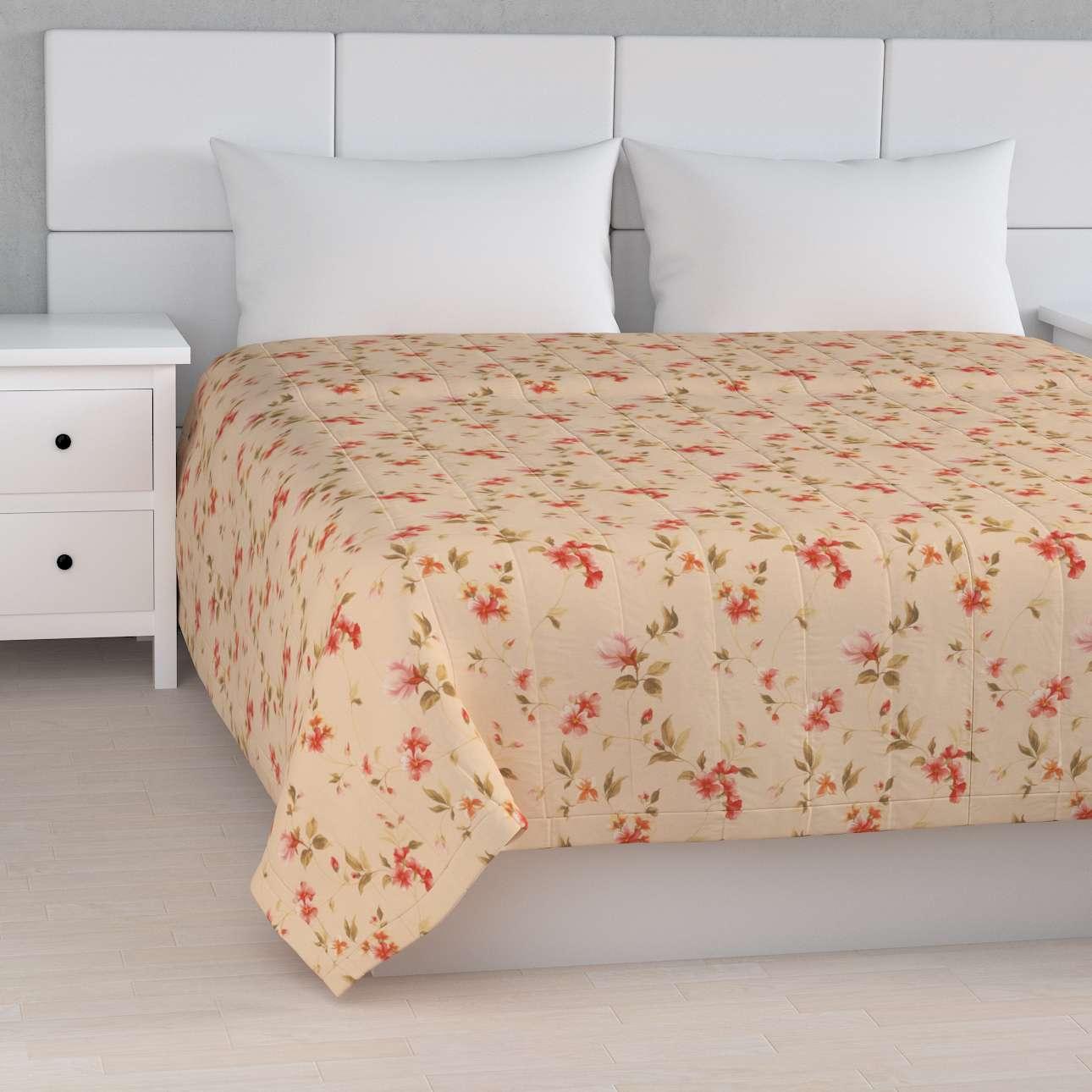 Sengetæppe quiltet<br/>10cm striber fra kollektionen Londres, Stof: 124-05