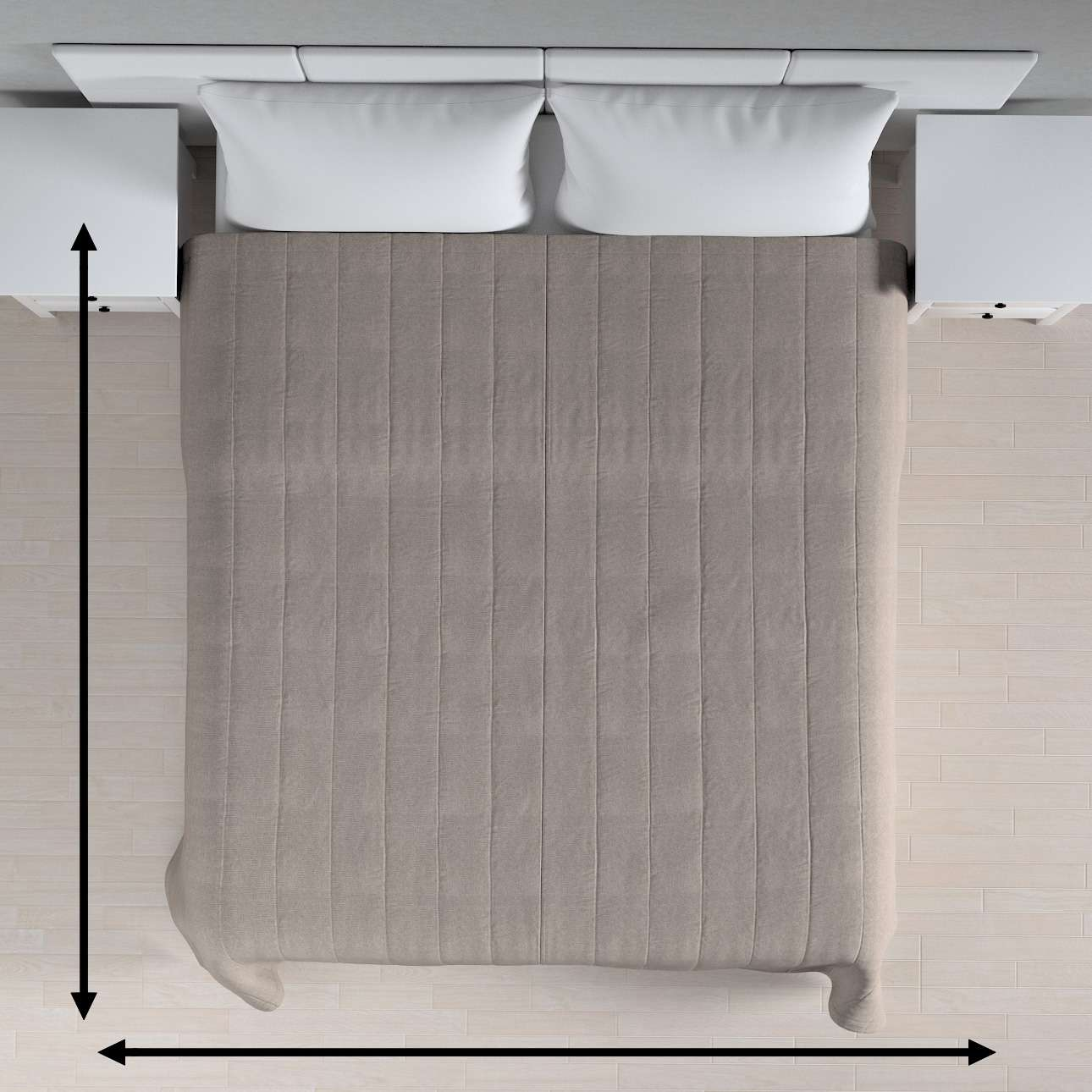 Basic steppelt takaró a kollekcióból Etna Bútorszövet, Dekoranyag: 705-09