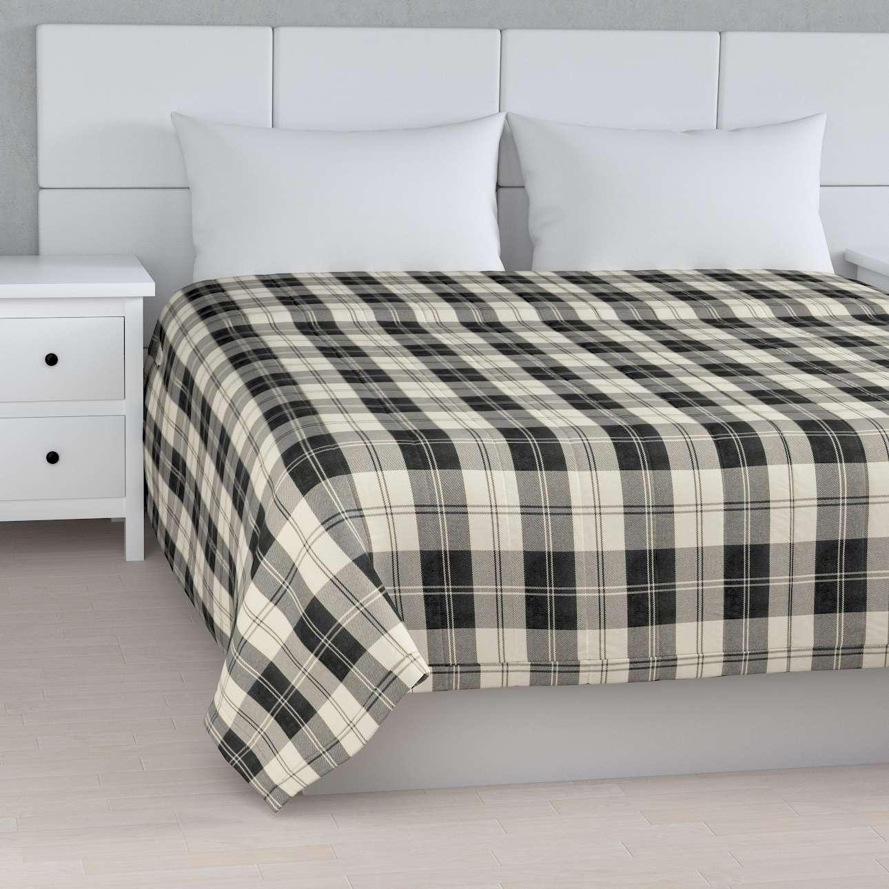 Tagesdecke mit Streifen-Steppung von der Kollektion Edinburgh , Stoff: 115-74