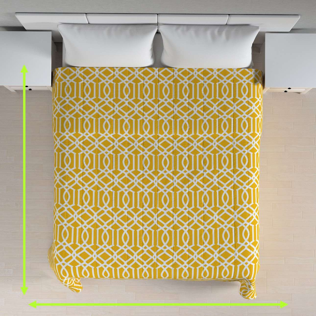 Stripe quilted throw in collection Comics/Geometrical, fabric: 135-09