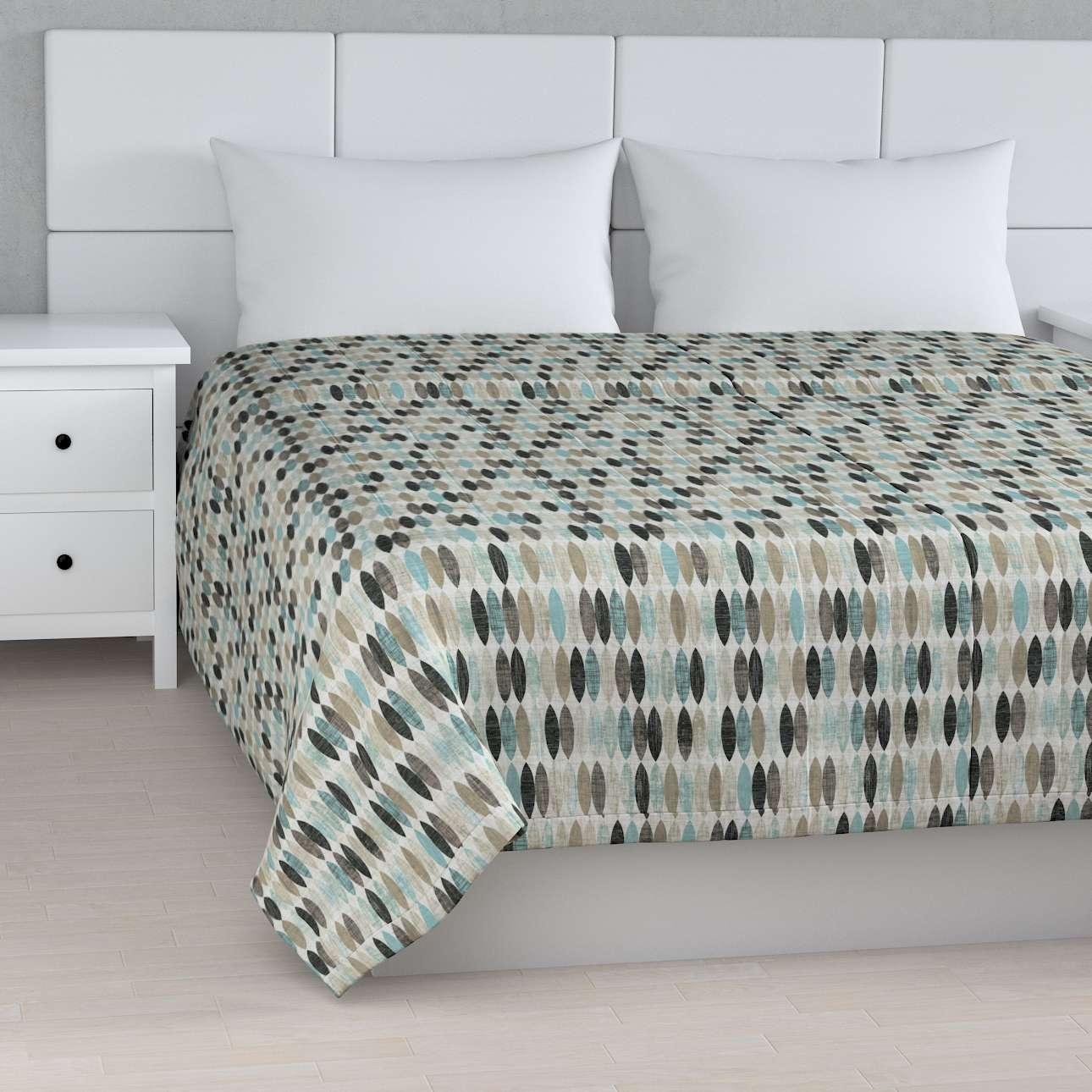 Tagesdecke mit Streifen-Steppung von der Kollektion Modern, Stoff: 141-91
