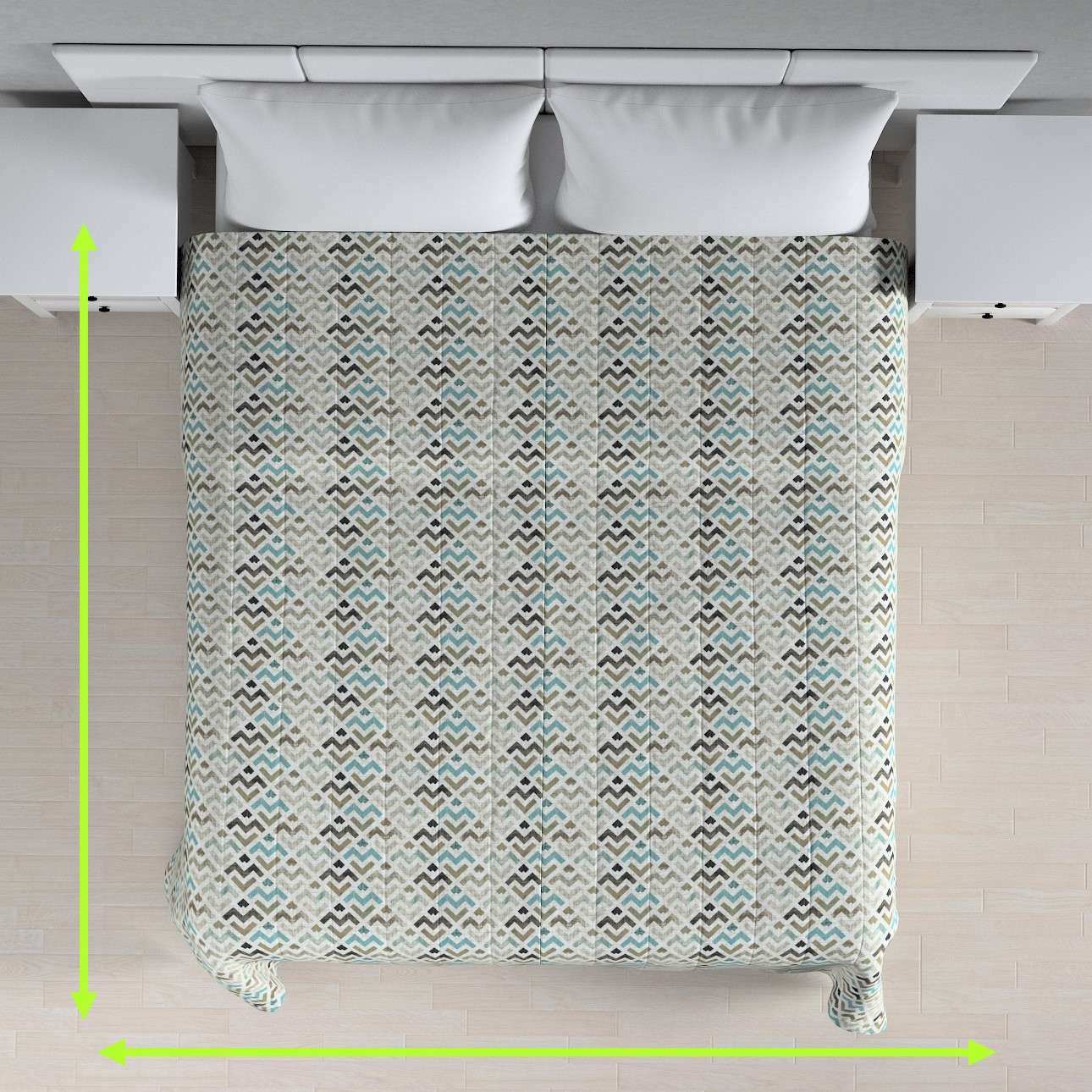 Prehoz na posteľ jednoduchý V kolekcii Modern, tkanina: 141-93