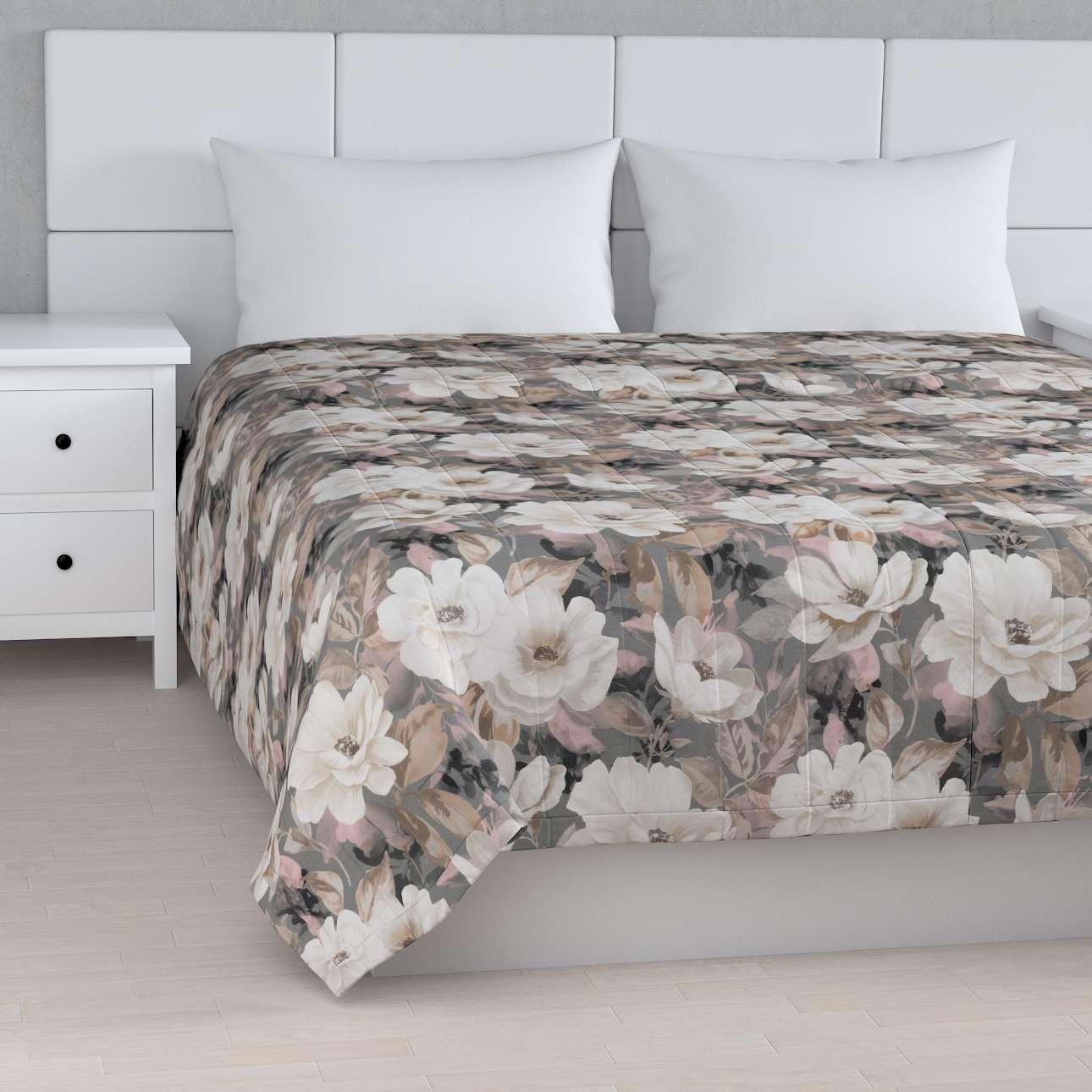 Päiväpeitto tikattu raidat mallistosta Gardenia, Kangas: 142-13