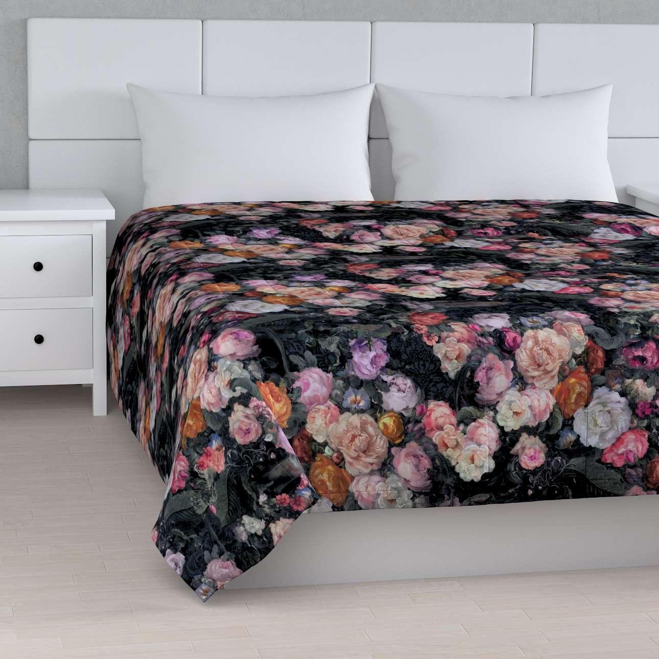 Tagesdecke mit Streifen-Steppung von der Kollektion Gardenia, Stoff: 161-02
