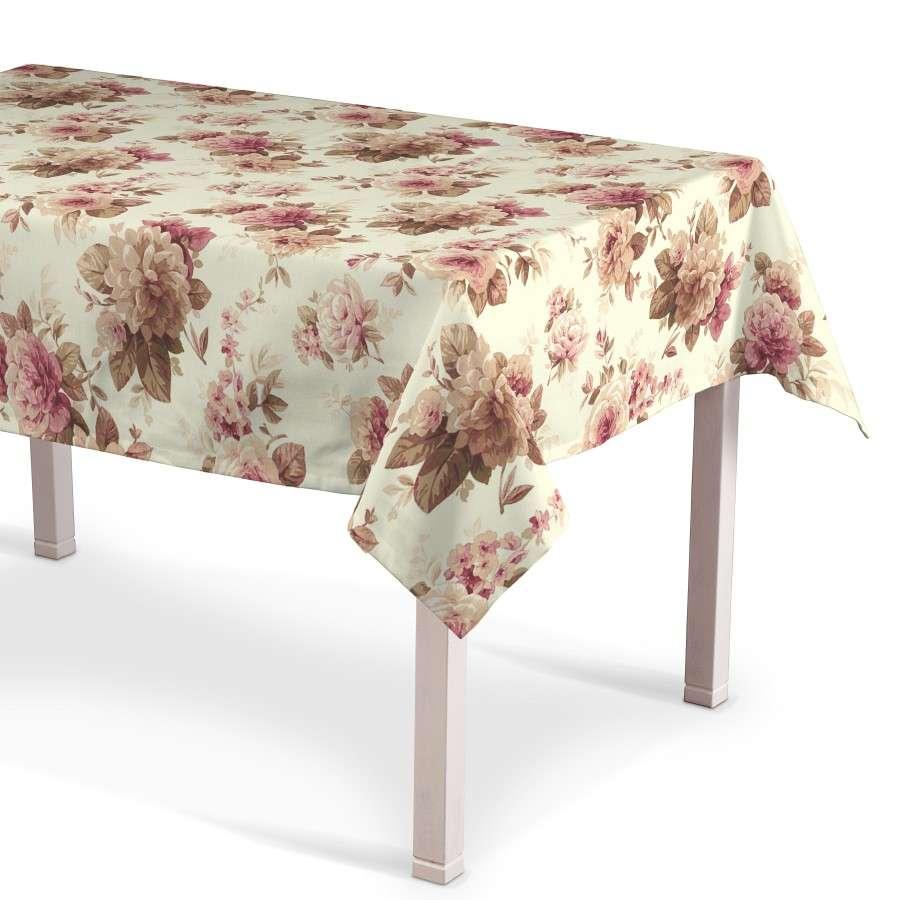 Rektangulære borddug fra kollektionen Londres, Stof: 141-06