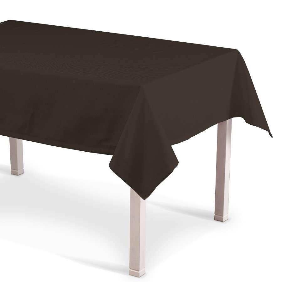 Rektangulær bordduk fra kolleksjonen Cotton Panama, Stoffets bredde: 702-03