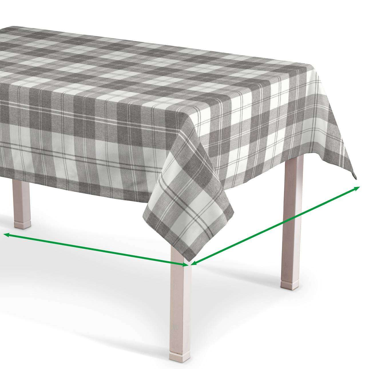 Rectangular tablecloth in collection Edinburgh, fabric: 115-79