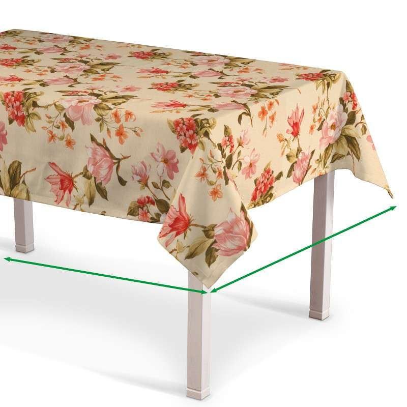 Rectangular tablecloth in collection Londres, fabric: 123-05