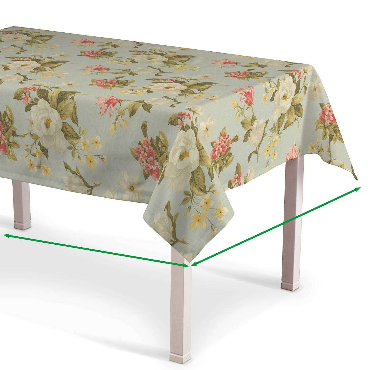 Rectangular tablecloth in collection Londres, fabric: 123-65