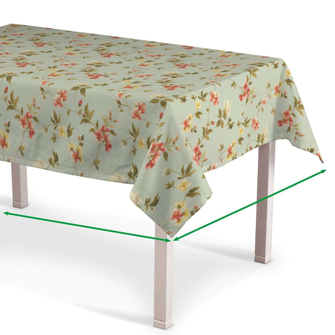 Rectangular tablecloth in collection Londres, fabric: 124-65
