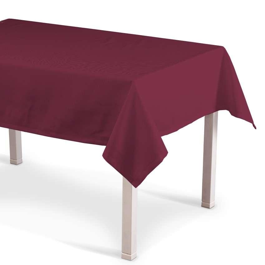 Obrus na stôl obdĺžnikový V kolekcii Cotton Panama, tkanina: 702-32