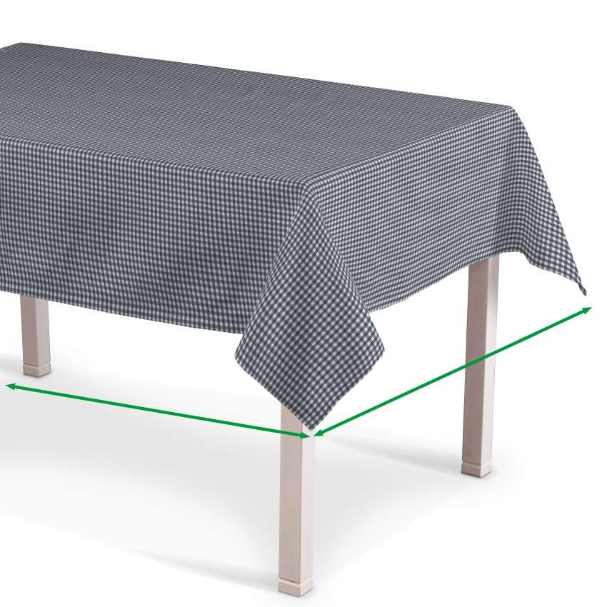 Rectangular tablecloth in collection Quadro, fabric: 136-00