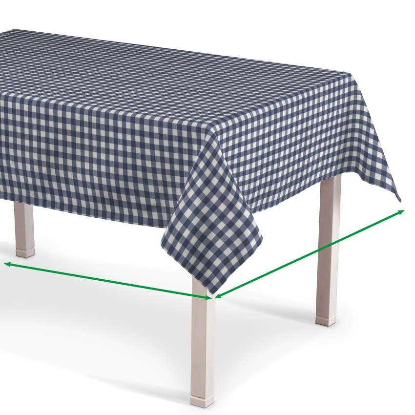Rectangular tablecloth in collection Quadro, fabric: 136-01