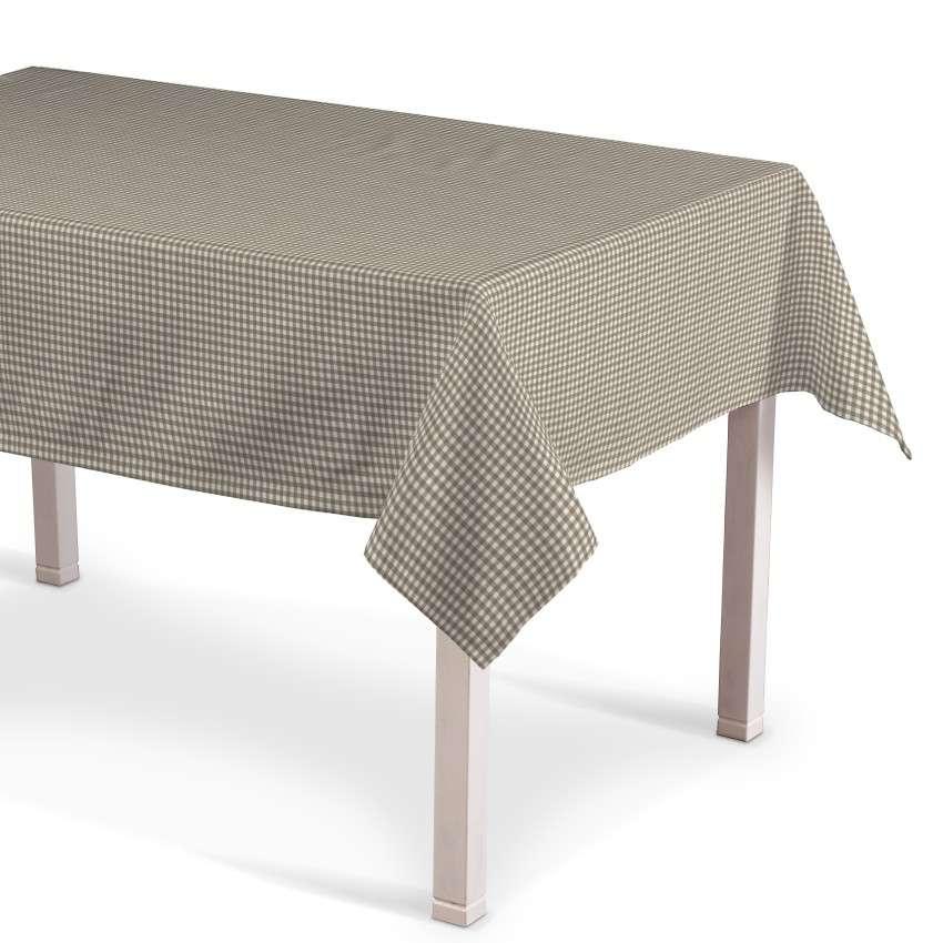 Obrus na stôl obdĺžnikový V kolekcii Quadro, tkanina: 136-05