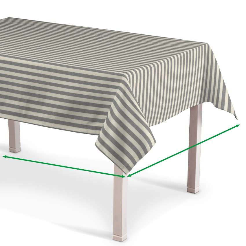 Rectangular tablecloth in collection Quadro, fabric: 136-12