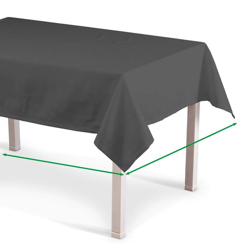 Rectangular tablecloth in collection Quadro, fabric: 136-14