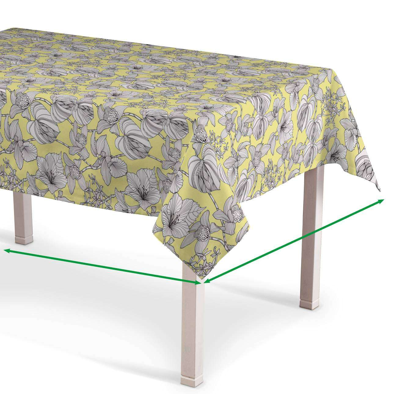Rectangular tablecloth in collection Brooklyn, fabric: 137-78