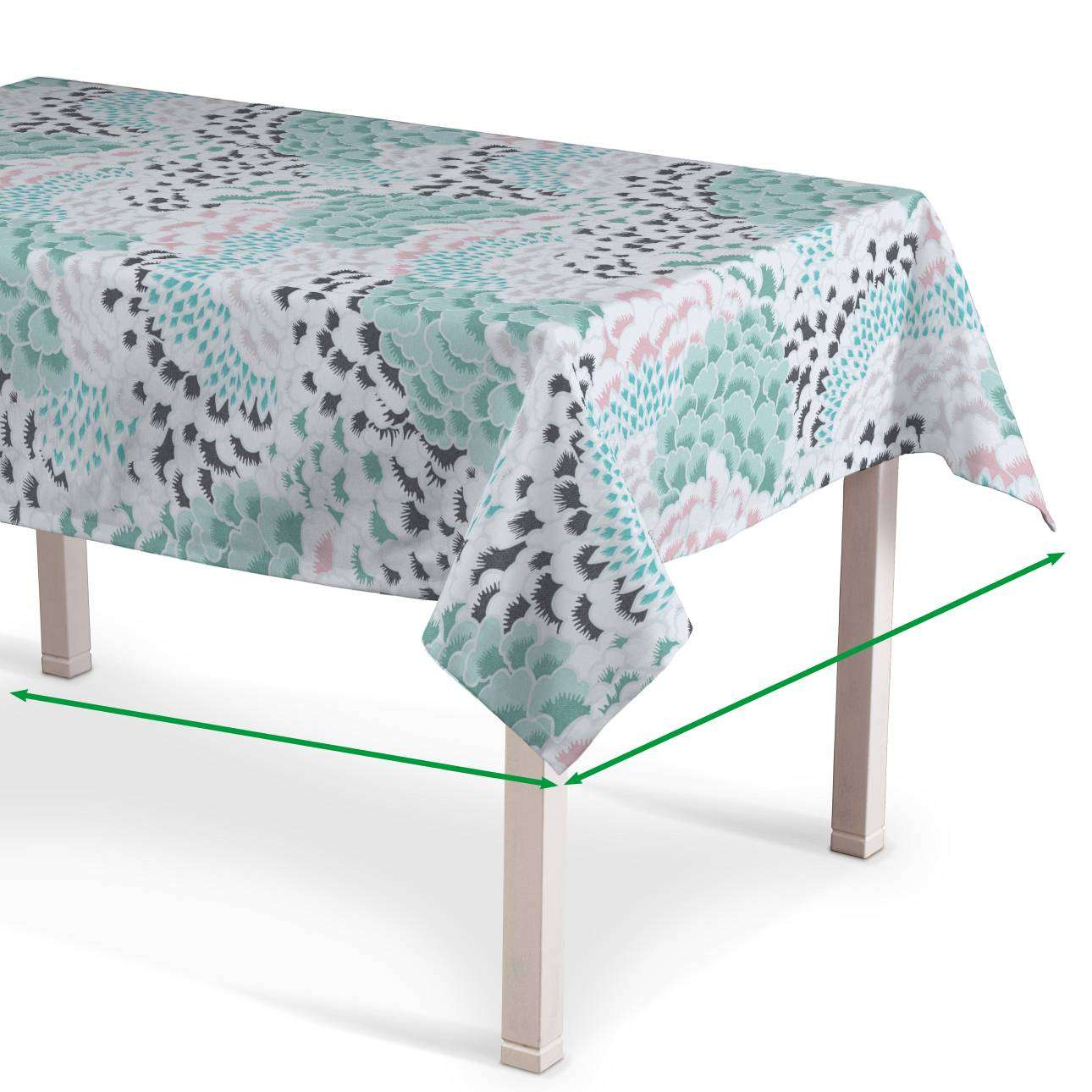 Rectangular tablecloth in collection Brooklyn, fabric: 137-89