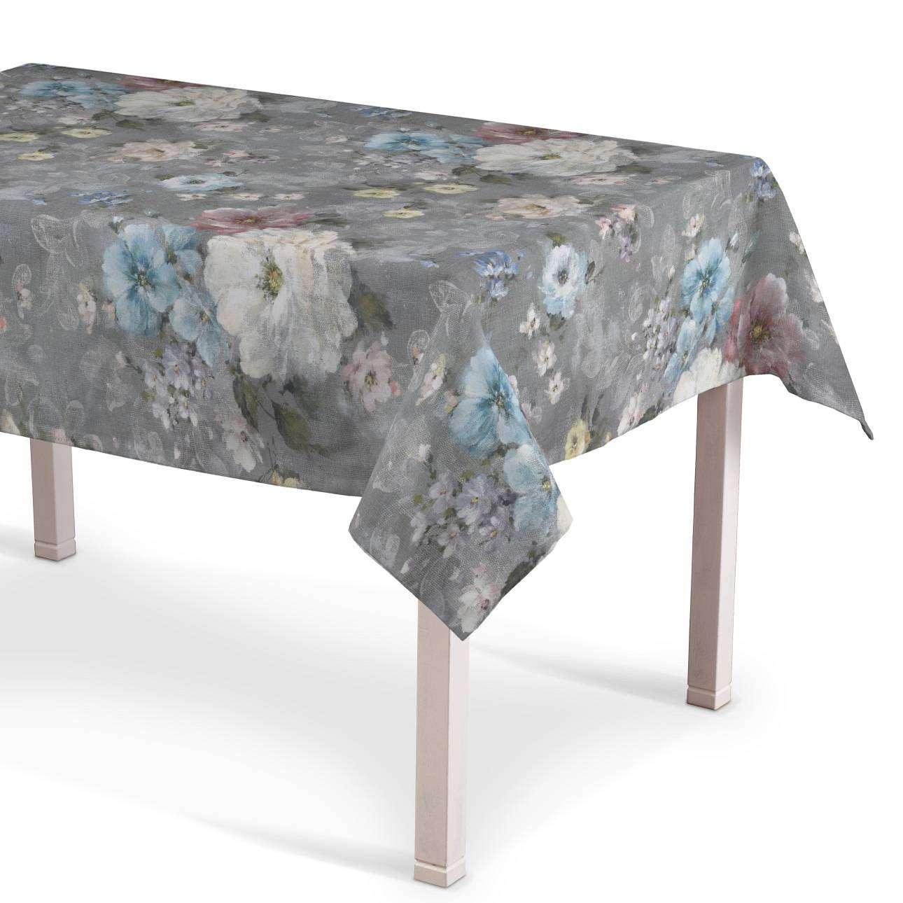 Obrus na stôl obdĺžnikový V kolekcii Monet, tkanina: 137-81