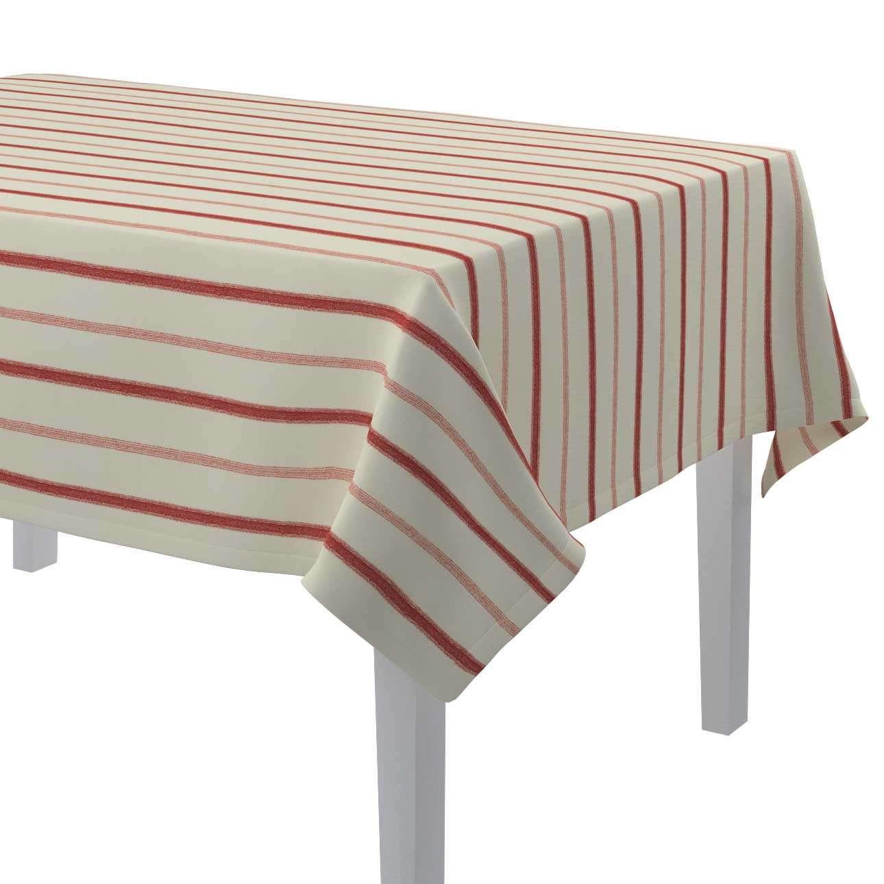 Rectangular tablecloth in collection Avinon, fabric: 129-15