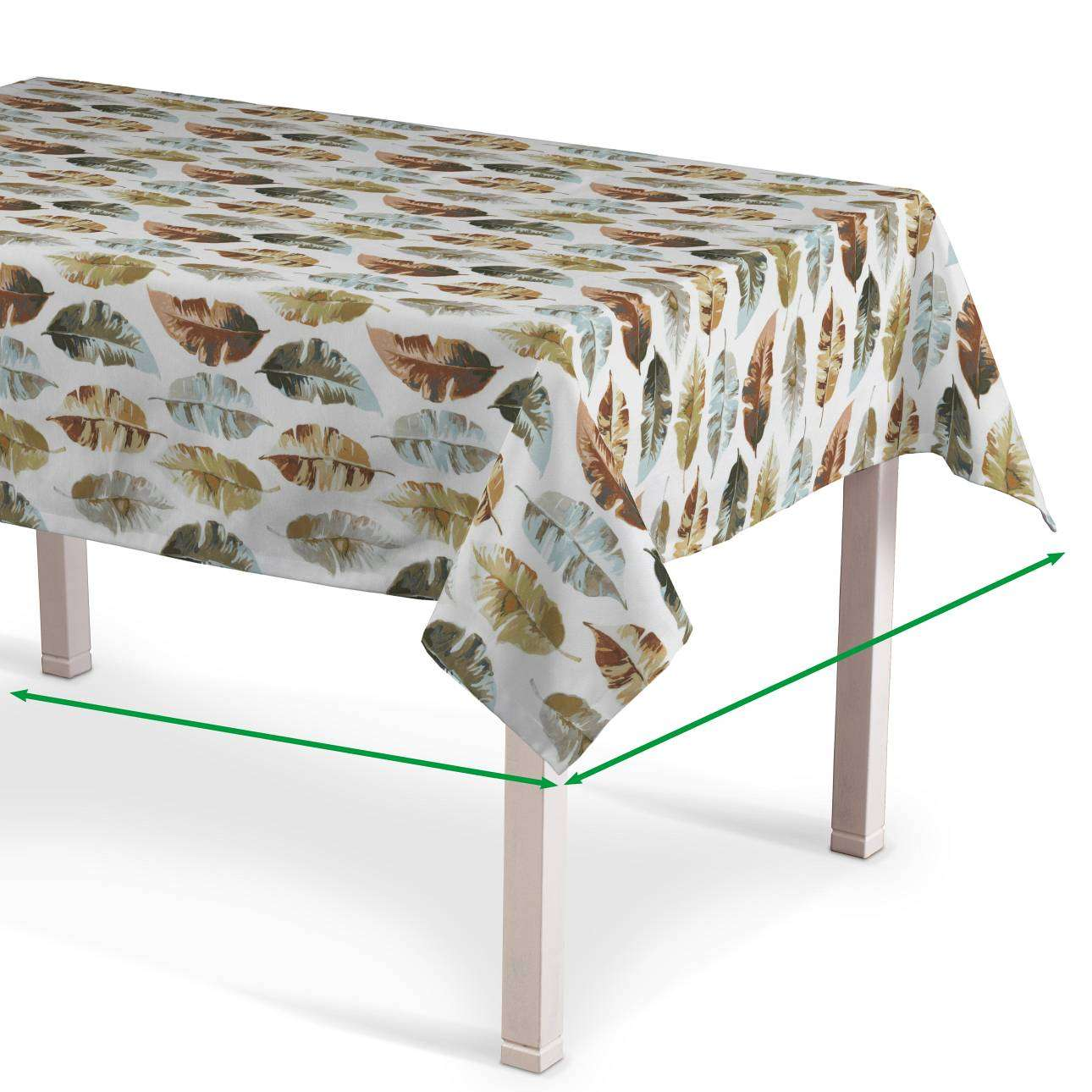 Rectangular tablecloth in collection Tropical Island, fabric: 141-43