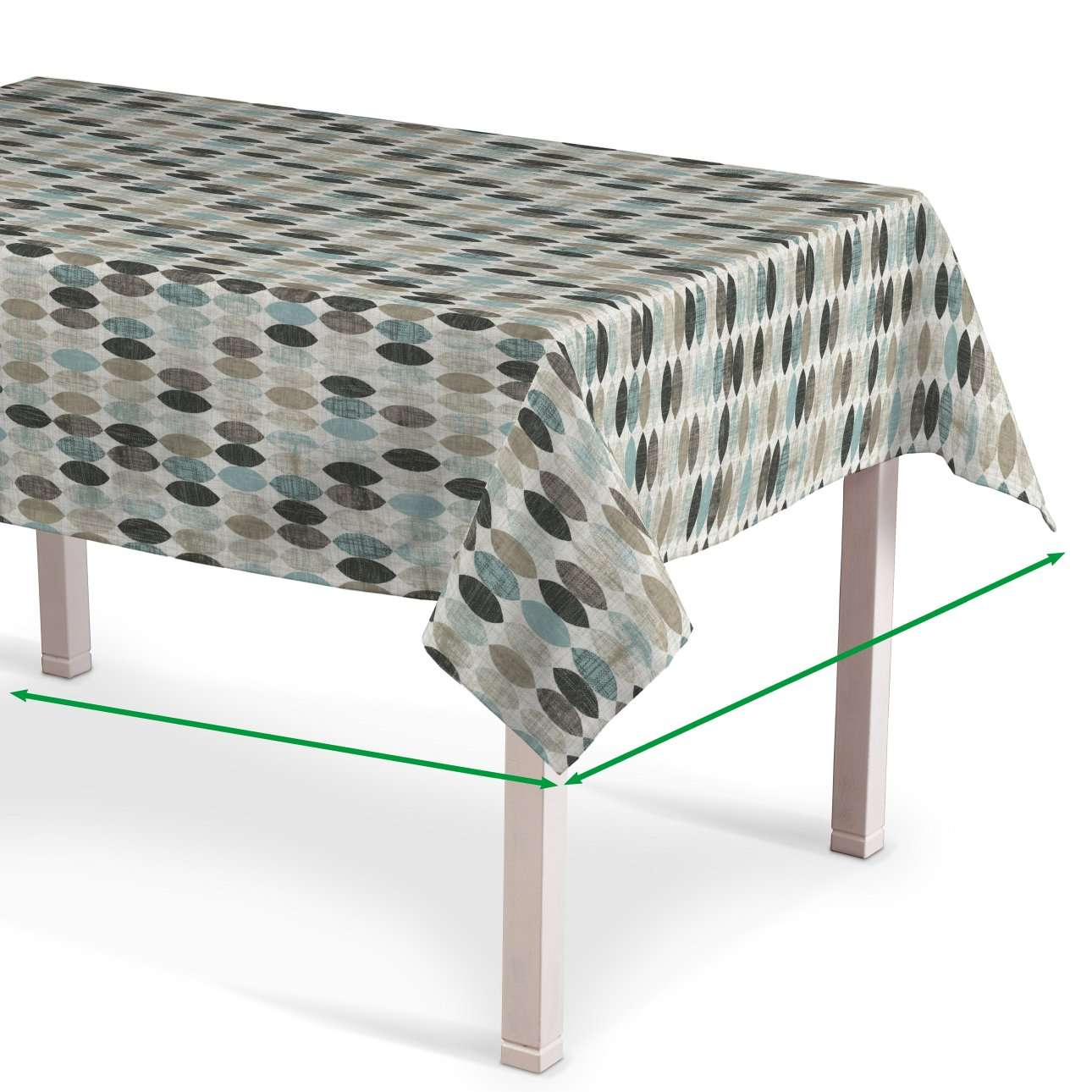 Rektangulære borddug fra kollektionen Modern, Stof: 141-91