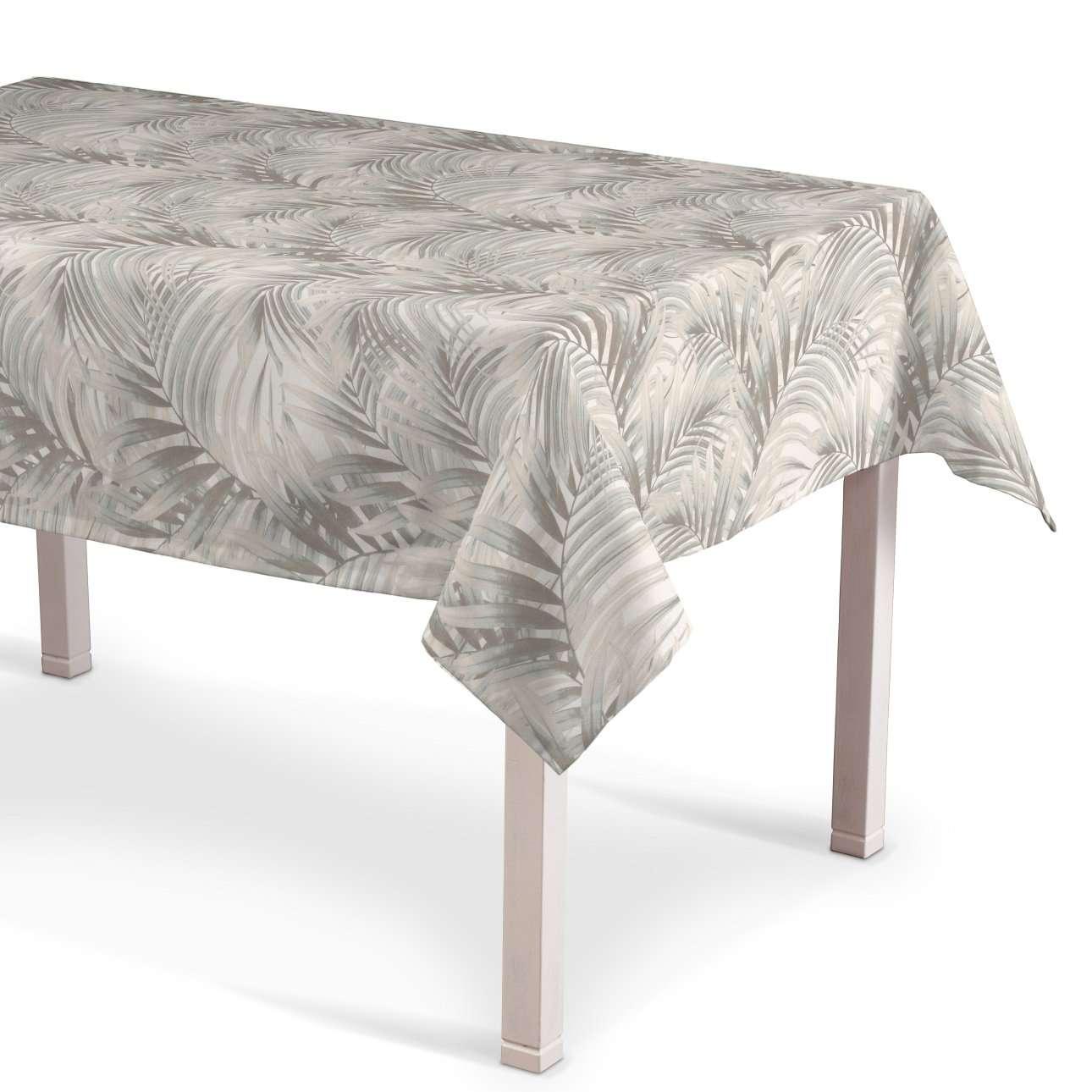 Rectangular tablecloth in collection Gardenia, fabric: 142-14