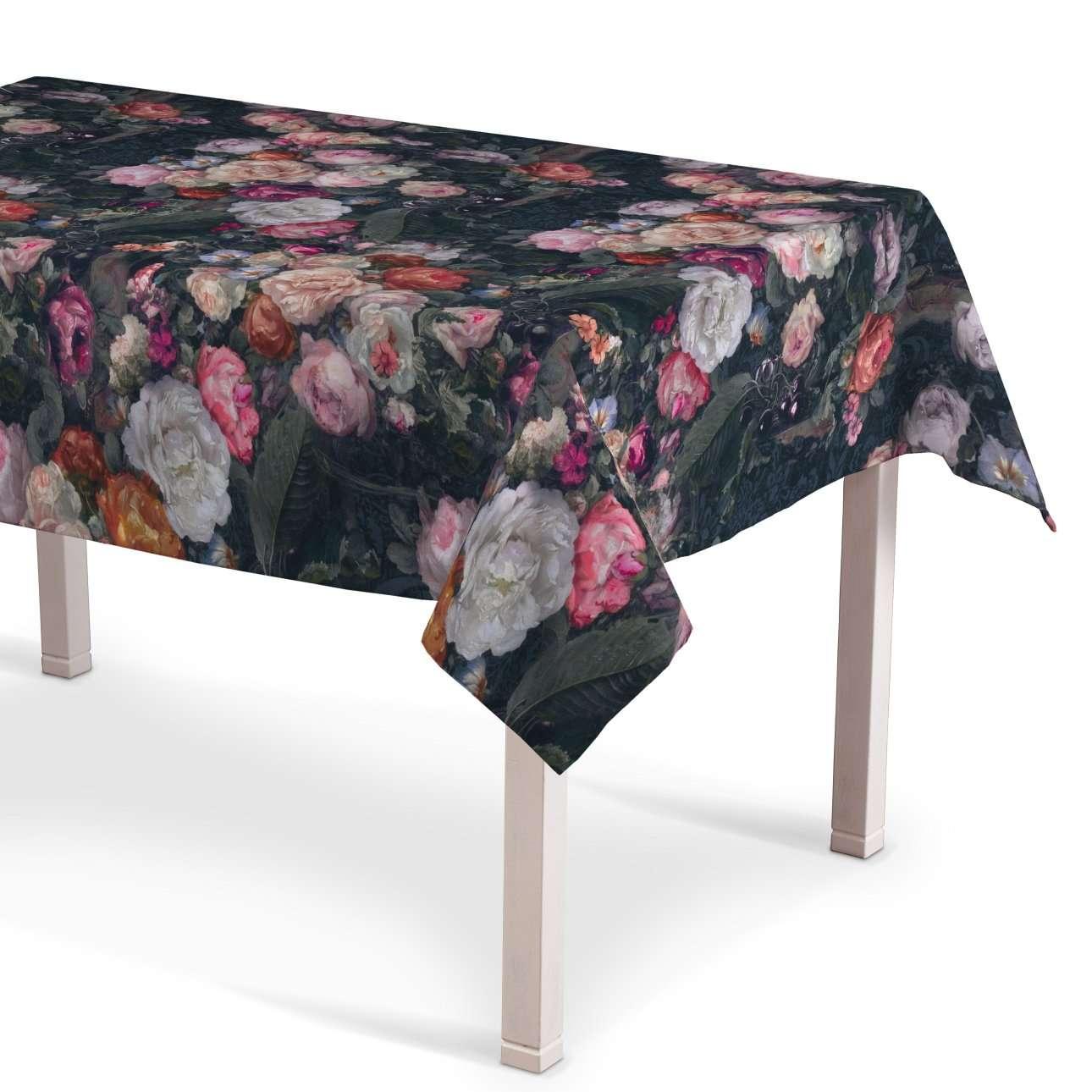 Obrus na stôl obdĺžnikový V kolekcii Gardenia, tkanina: 161-02