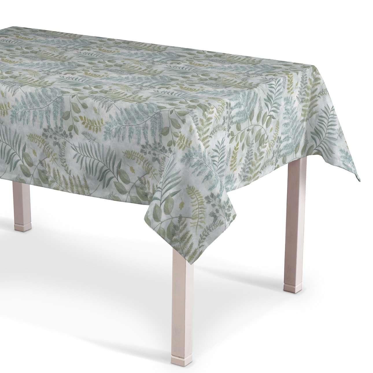 Obrus na stôl obdĺžnikový V kolekcii Pastel Forest, tkanina: 142-46