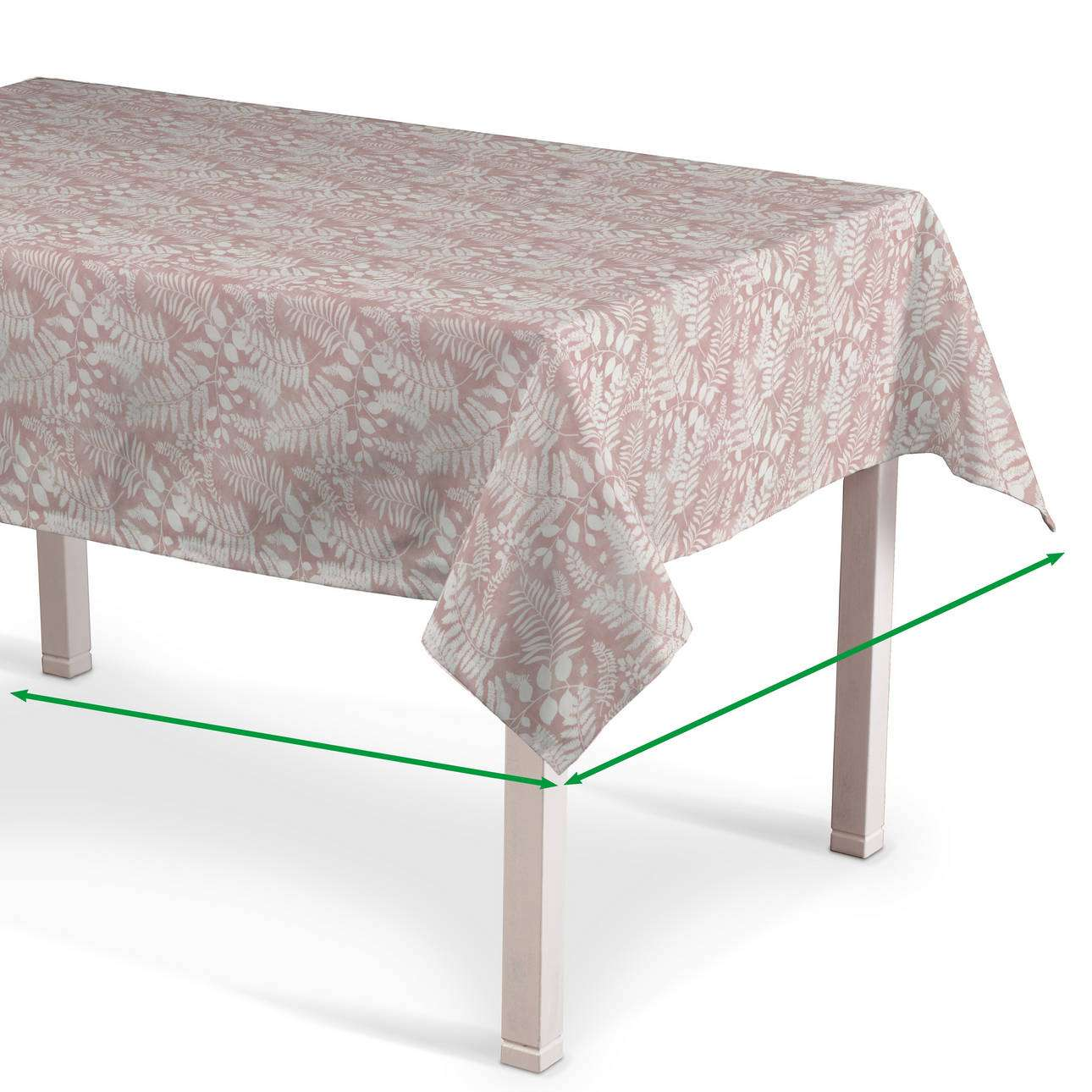 Rectangular tablecloth in collection Pastel Forest, fabric: 142-48