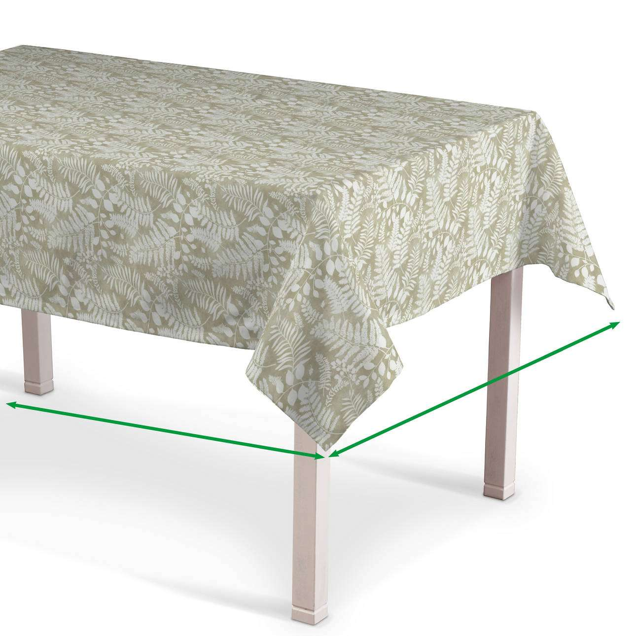 Rectangular tablecloth in collection Pastel Forest, fabric: 142-50