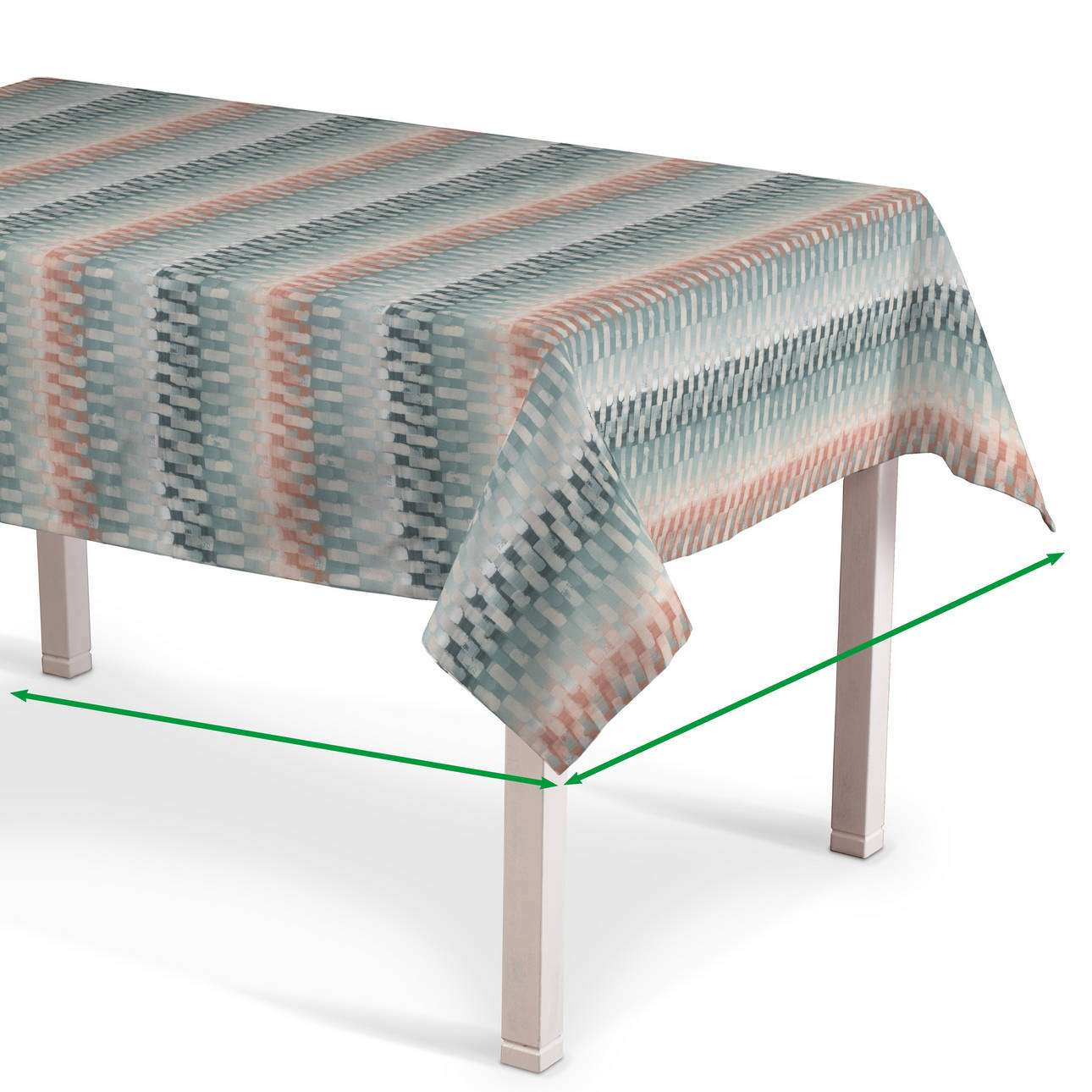 Rectangular tablecloth in collection Pastel Forest, fabric: 142-51