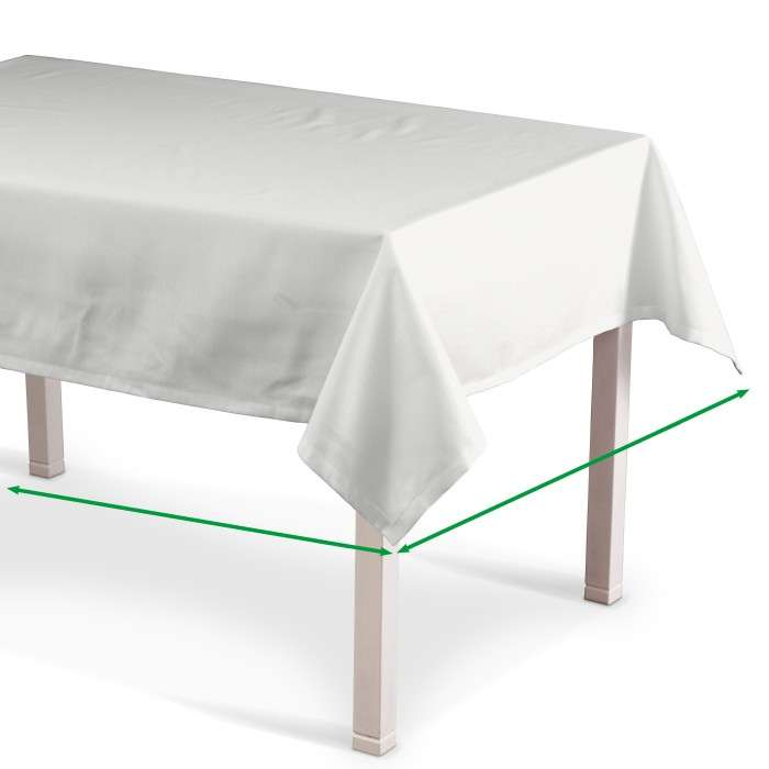 Rectangular tablecloth in collection Jupiter, fabric: 127-15