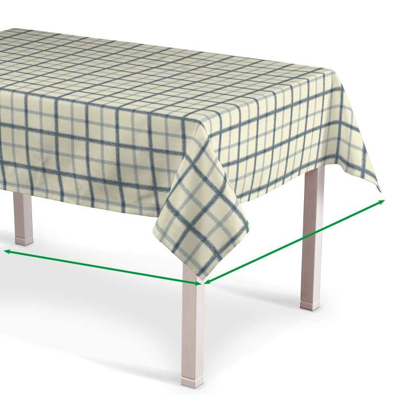 Rectangular tablecloth in collection Avinon, fabric: 131-66