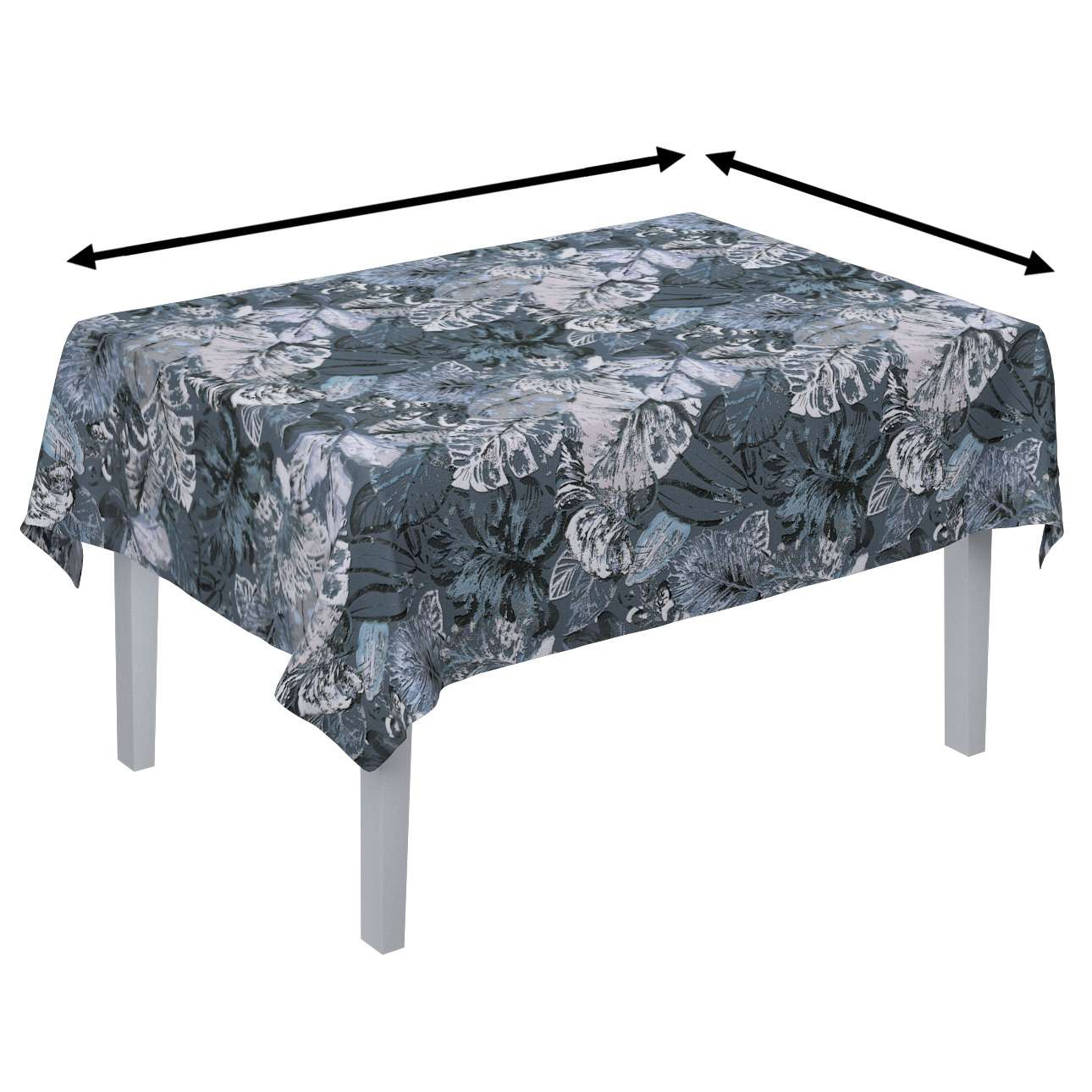 Rectangular tablecloth in collection Abigail, fabric: 143-18