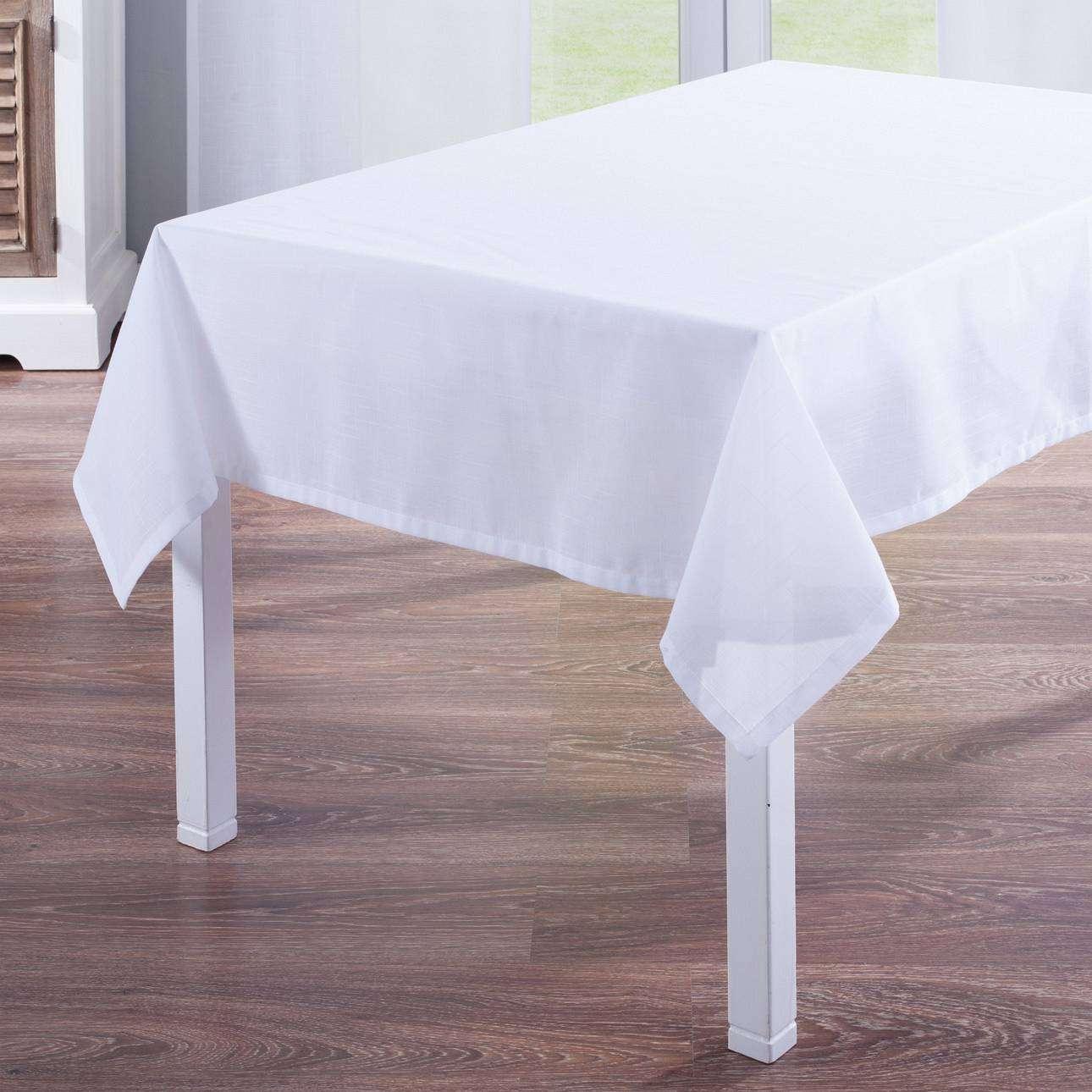 Rektangulære borddug fra kollektionen Romantik, Stof: 128-77