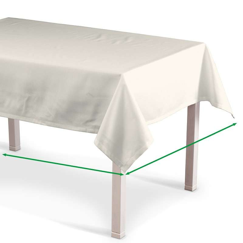 Rectangular tablecloth in collection Jupiter, fabric: 127-00